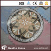 둥근 Flower Design Marble Stone Water Jet Pattern 또는 Medallion