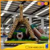 Спортивная площадка Inflatalbe формы Giraffe комбинированная с скольжением (AQ01548)