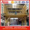 riga d'anodizzazione gru a ponte di profilo di alluminio di 2t+2t Full Auto