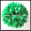 Dar el Pompom de papel del papel de la decoración