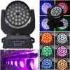 36PCS 12W 4in1 LED Moving Head Zoom Light