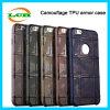 A caixa Shockproof militar da armadura camuflar TPU para o iPhone 6s/7