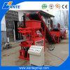 Equipamento semiautomático da máquina de fatura de tijolo do bloqueio