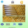 Thermisches Insulation Rockwool Pipe mit Aluminum Foil für Building Material