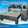 3D 3 linha central Z dobro mais CNC dos eixos que cinzela a máquina