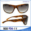 Forma polarizada Mens Eyewear do esporte ao ar livre do leopardo de Brown