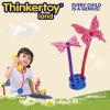 Los juguetes creativos del bloque hueco Batterfly decoración del hogar