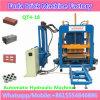 Bloco concreto hidráulico automático do tijolo que faz a máquina com Ce