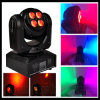 8*8W bilatéral RGBW Mini Wash DEL Moving Head Light
