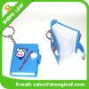 Nuevos regalos de encargo del recuerdo del PVC Keychain del encadenamiento dominante del diseño