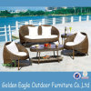 Freizeit Outdoor Furniture Dining Set in Rattan und in Aluminum