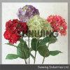 Flor falsificada pequena dos lótus artificiais decorativos baratos do Hydrangea