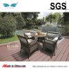 Patio Table e Chairs Wicker Rattan del giardino di svago