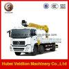 Dongfeng Tianlong 10 Wheels Truck Mounted 8-10t Truck Crane