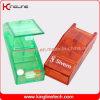 Om het even welke Color Plastic Pill Box met 3-gevallen (kl-9005)