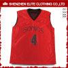 Rojo de encargo de Jersey del baloncesto de los E.E.U.U. del Mens
