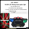 Endloses Rotation 9X10W 3 Heads LED Moving Head Spider Light
