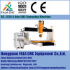 Xfl-1325 5 축선 기계를 새기는 중국 CNC 조각 기계에서 항공 우주 알루미늄과 티타늄 기계로 가공 해결책