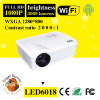 1280*800 l'anglais du support 720p/1080P/Fre/SPA Total 23 Language Cinema Projector