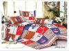 Poli/algodão todo o fundamento de matérias têxteis da HOME da alta qualidade do tamanho ajustado/folha de base