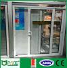 Porte coulissante de profil en aluminium de matériau de construction avec la glace Tempered