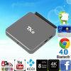 Tx8 boîtier décodeur d'OEM de support du faisceau 2g 32g 2.4GHz/5.8GHz 802.11A/B/G/N d'Octa de cadre d'Amlogic S912 TV de l'androïde 6.0