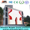 Visualización de LED al aire libre P10 de Abt HD para hacer publicidad