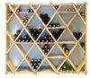Деревянный максимум показывает набор шкафа винного погреб погреба кубика диаманта комбинированный