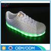 Éclairage LED en cuir de vente chaud d'unité centrale vers le haut des chaussures
