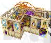 Campo de jogos interno temático do castelo grande do divertimento do elogio para a venda
