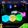 Multi cor que muda o cubo mágico do diodo emissor de luz da mobília do diodo emissor de luz