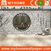 Papel de parede 3D Guangzhou interior da HOME barata do preço