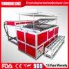 Automatische Plastikeinspritzung, die Thermoforming Maschine für Plastikcup-Preis-Tellersegment Thermoforming Maschine formt