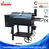 De openlucht Maker van de Barbecue van de Grill van de Houtskool Elektrische met de Trekker van de Rook