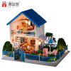 Ontmoet het Gelukkige Huis van Doll van het Stuk speelgoed van de Familie Houten