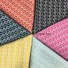 Спираль вводит ткань в моду готовое Greige шерстей жаккарда