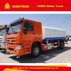 HOWO 물 트럭 디젤 엔진 266|290HP 12000L 물 탱크