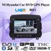 Jugador especial del coche DVD GPS de HUGO para N-F-Hyundai