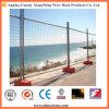 Cerco provisório protetor do engranzamento de fio da borda da estrada