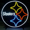 New T805 Pittsburgh Steelers Handicrafted Real Glass Tube Neon Light