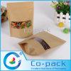 Bolsos de empaquetado finos del papel de Kraft para el envasado de alimentos