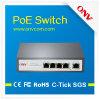 5 порт 100m Poe Switch с 4 Poe Ports и 1 Uplink Port Строить-в Power