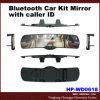 Зеркало набора автомобиля Bluetooth с удостоверением личности звонящего по телефону (HP-WD0618)
