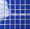 48X48mm Blue Crystal Galzed Ceramic Pool Msoaic Tile (BCK636)