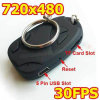 Mini de DVR do registrador 808 do carro micro DV câmara de vídeo 720*480 da corrente chave (OT-81)