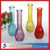 I vasi di vetro colorati hanno polverizzato i vasi di fiore di colore utilizzati a casa decorano