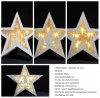 Indicatori luminosi di legno dell'albero LED della stella di natale dei commerci all'ingrosso per illuminazione dell'interno della decorazione