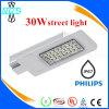 Luz ao ar livre popular da luz de rua do diodo emissor de luz de 30W a Philips com alta qualidade