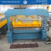 Rolo de aço do painel da telhadura da cor hidráulica da estaca que dá forma à máquina
