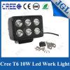 De waterdichte 60W Vierkante LEIDENE CREE Lamp van het Werk Lichte 7inch 4WD